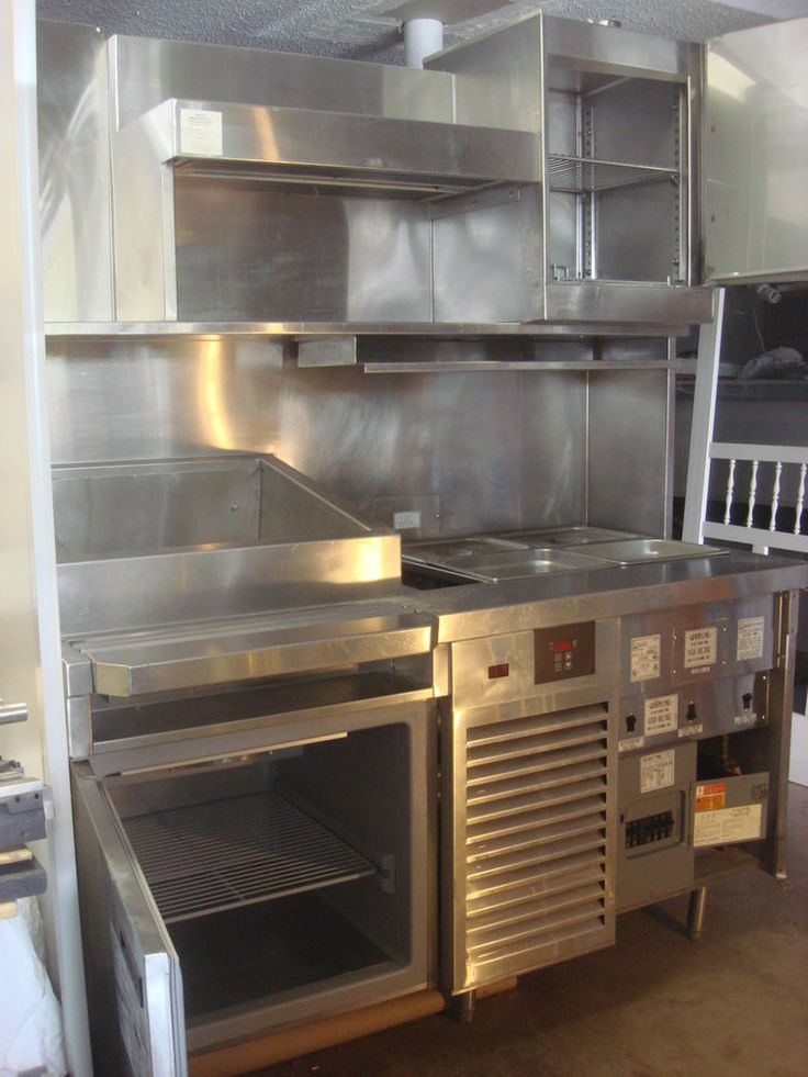 Details About Taco Prep Table Station Randell Taco Cart CC101 001 Cold Refrige Amp Hot Food