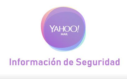Configuracion: Informacion de Cuenta Yahoo, mantente seguro