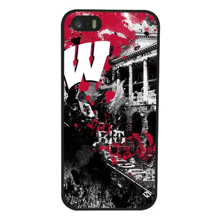 NCAA Wisconsin Badgers Paulson Designs Spirit Case for iPhone 5/5s, Black, Medium. Show support for University of Wisconsin. Compatible with iPhone 5/5S. Protects your device from scratches and damage. Allows access to ports and buttons. Officially Licensed Merchandise.