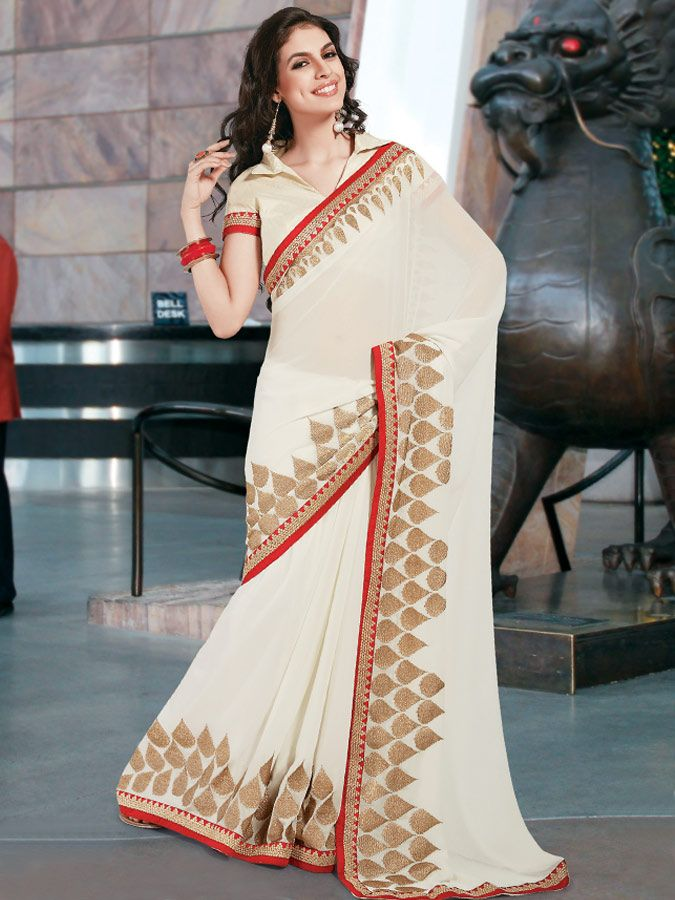 In India Saree has been the major choice of wearing clothing for decades. For latest Collection Of Sarees visit http://bit.ly/1qCc6ur.