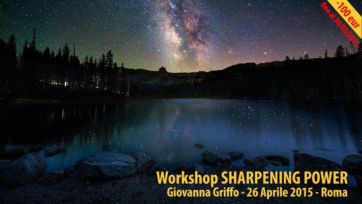 """Come ottenere il massimo della nitidezza? Ho condensato in questa giornata di workshop """"Sharpening Power"""" tutta la mia esperienza sul tema nitidezza. CLICCA QUI PER SAPERNE DI PIU': http://maxartis.it/corso_workshop_photoshop_nitidezza_sharp…  Approfitta della promozione che ti farà risparmiare fino a 100,00 eur se ti iscrivi entro il 30 marzo! Ci vediamo a Roma il 26 aprile  Ciao!"""