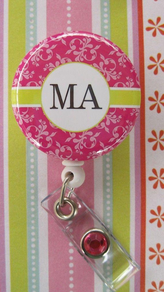 Medical Assistant ID Badge Holder