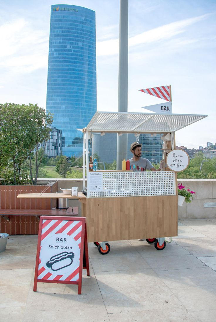 arquimaña has reimagined the age-old hot dog cart, giving it a modern face-lift…