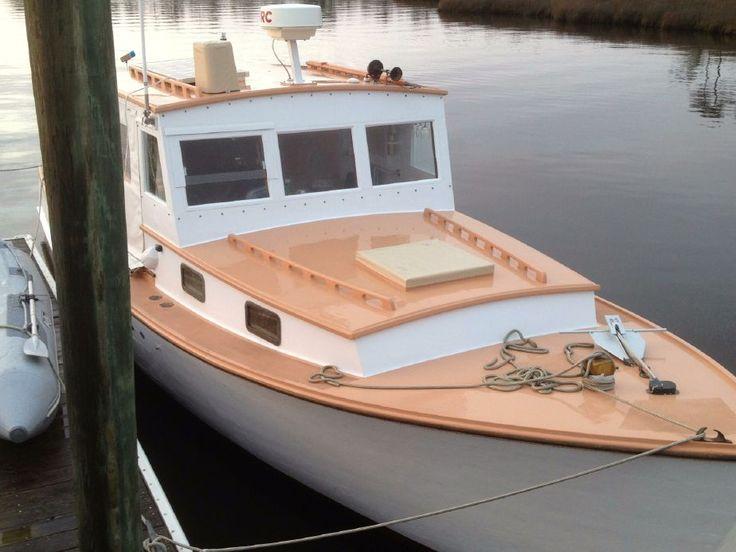 1968 Stanley Downeast Lobster Yacht Power Boat For Sale - www.yachtworld.com | Lobster Boats ...