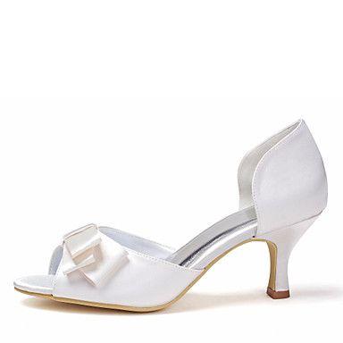 Női+-+Magassarkú+-+Esküvői+cipők+-+Szandál+-+Esküvői+-+Elefántcsont+–+EUR+€+26.34