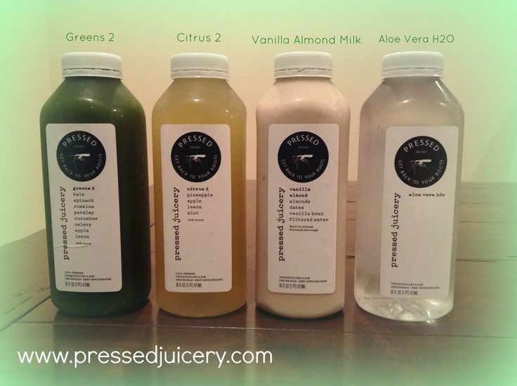 Candace's Juice Cleanse