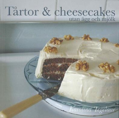 Tårtor och cheesecakes utan ägg och mjölk från Djurens Rätt Webbshop