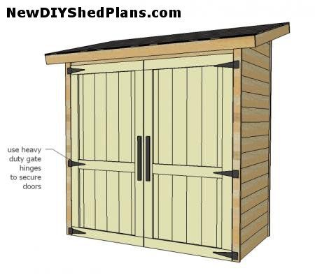 Small Shed Plans | Storage Shed Plans | How To Build A Small Garden Storage  Shed