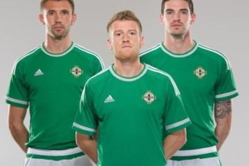Northern Ireland 2014/15 adidas Home Kit