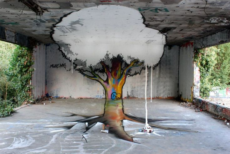STREET ART UTOPIA » We declare the world as our canvasBy TSF crew 2 street art 3d » STREET ART UTOPIA