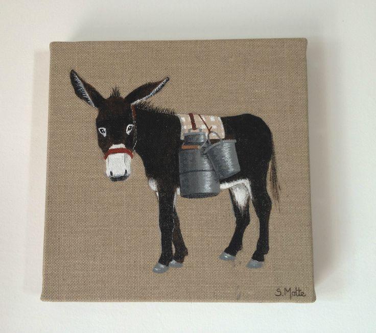 dessin d un ane | Mon troupeau d'ânes - Les dessins de Sophie Motte