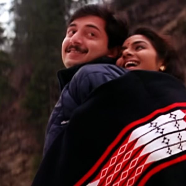 Madhoo And Arvind Swamy In Roja 1992 Streaming Movies Online Full Movies Online Free Love Movie