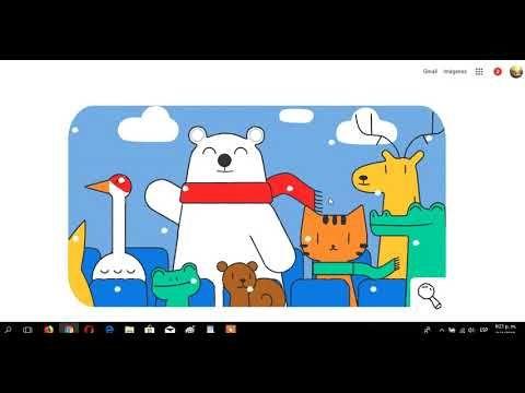 El logo de google juegos olimpicos de invierno 2018
