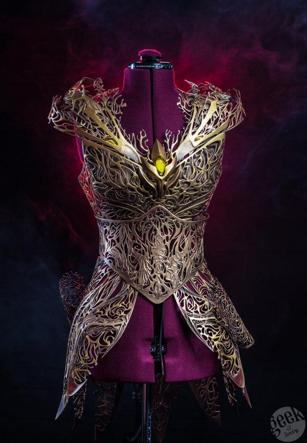3D Printed Armour by Melissa Ng