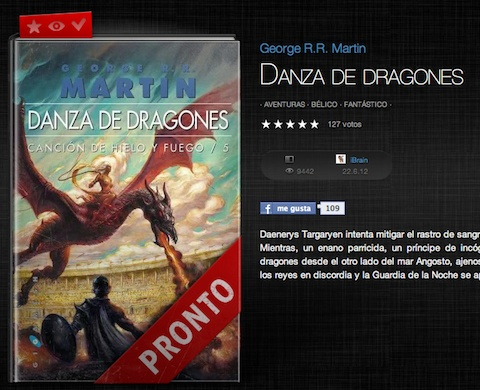El blog de Alcanjo: Danza de Dragones pronto en ebook