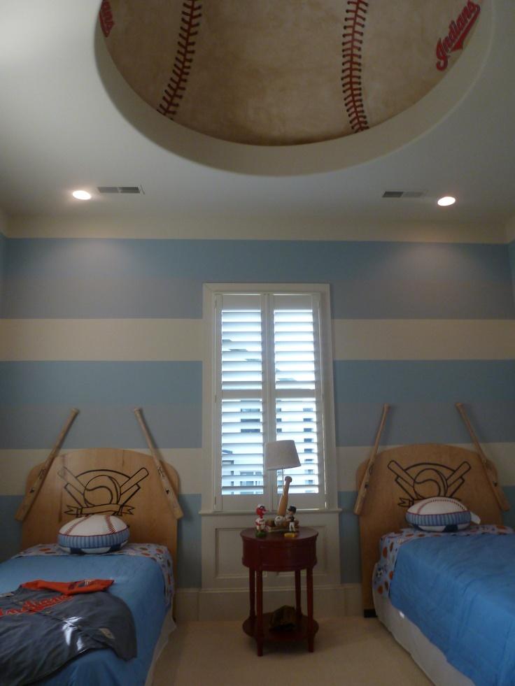 165 best images about baseball ideas on pinterest for Boys baseball bedroom ideas