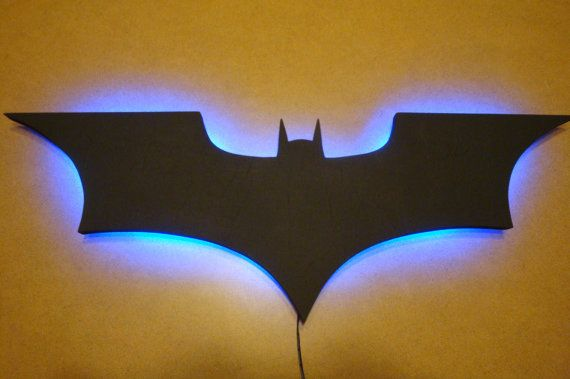 Hey, I found this really awesome Etsy listing at https://www.etsy.com/listing/225272357/batman-logo-led-wall-light-night-light