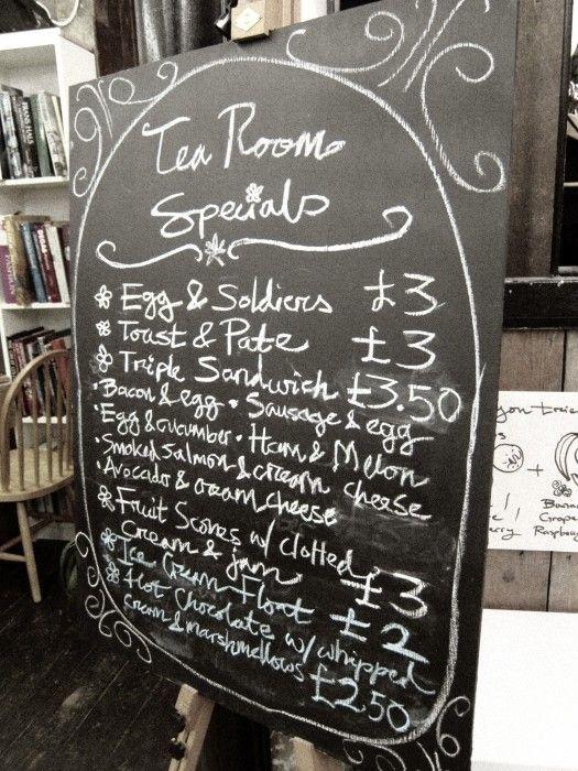 The Basement Tea Rooms Camden London
