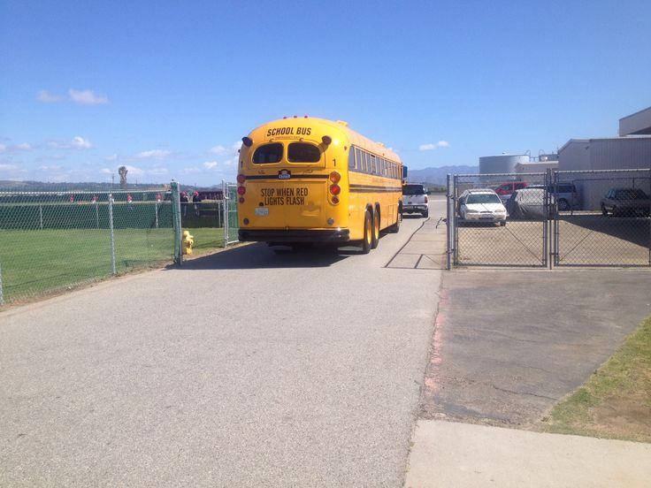 Oxnard school bus
