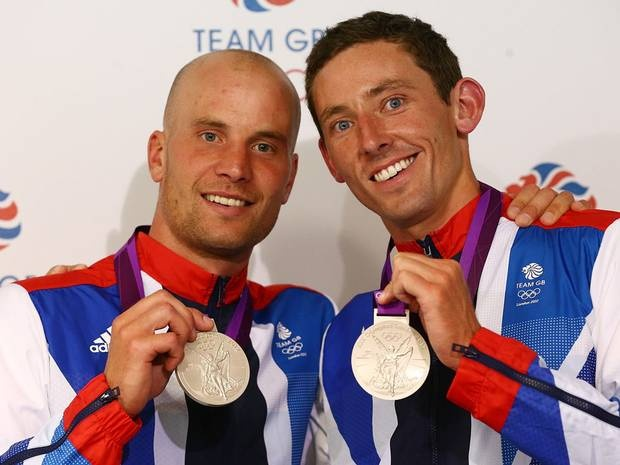 David Florence and Richard Hounslow win Silver for the men's canoe double