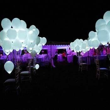 15 Pcs LED Balloons - Great for Birthday, Weddings, and Parties!