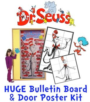 This is our latest project on TPT!  Please check out the Preview or view what teachers are saying about the quality of our many other products.  Help us by leaving a review after purchasing!  Thanks!Working on a Dr. Seuss theme for a bulletin board?  Want to inspire your students during Read Across America & March Reading Month?