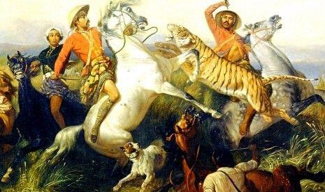 salah satu lukisan Raden Saleh