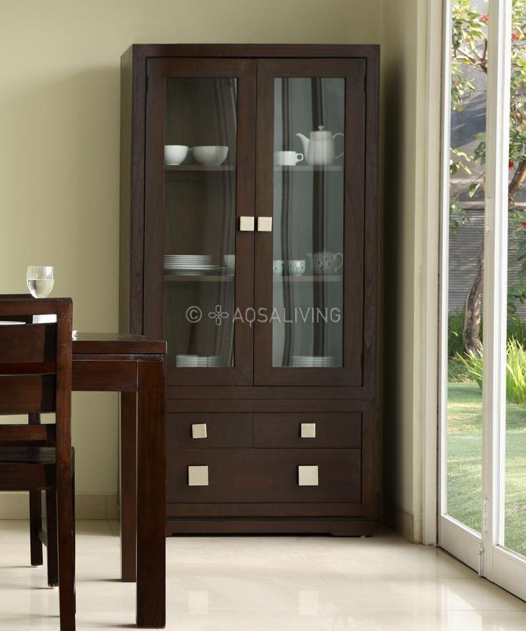 Dining Room Idea Cabinets With Glass Doors