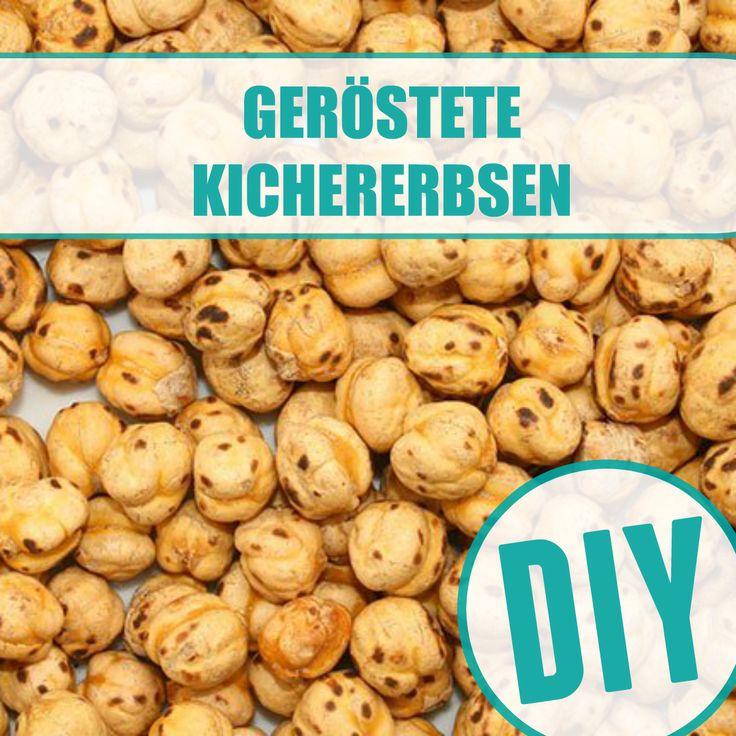 Geröstete Kichererbsen selber machen - die gesunde Knabberei - so einfach lässt sich der Snack selber machen | http://eatsmarter.de/ernaehrung/gesund-ernaehren/geroestete-kichererbsen-selber-machen