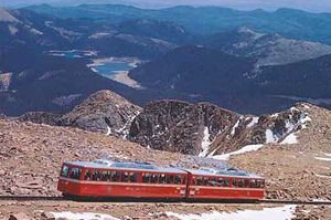 Pikes Peak Cog Railway Colorado Springs, Colorado