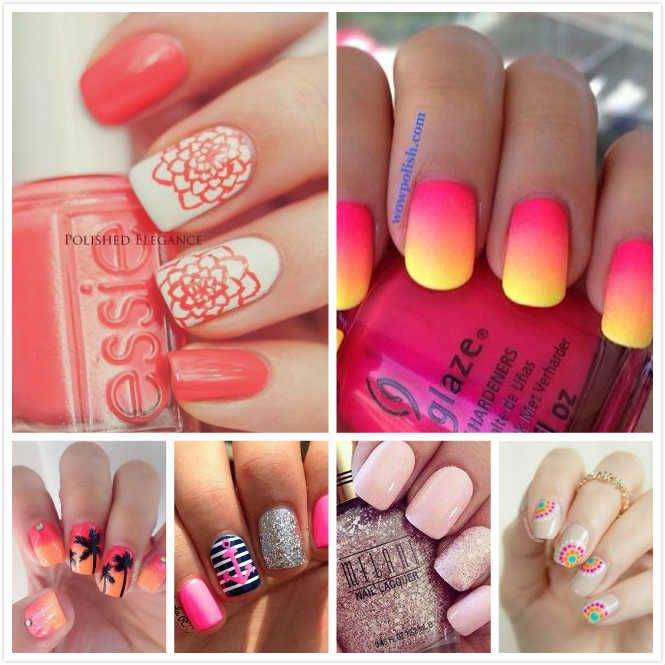 Lovely Summer Nail Art Ideas