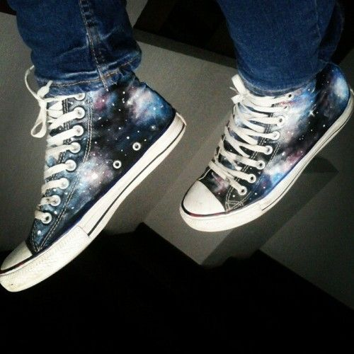 Galaxy Converse | all star converse galaxy | We Heart It