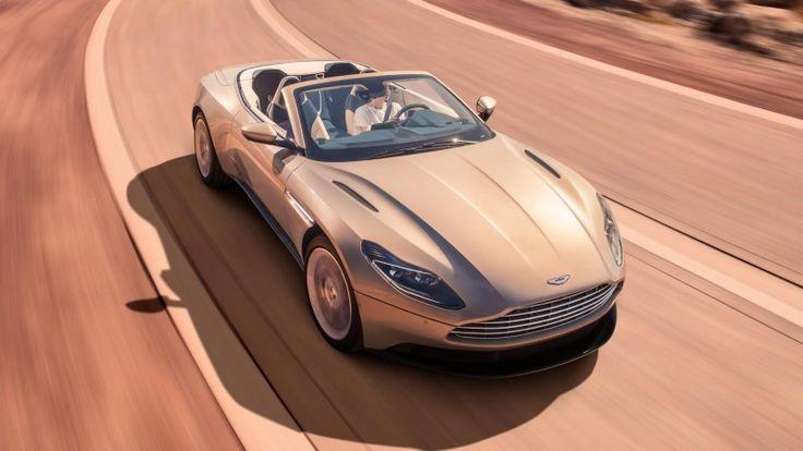 Aston Martin's DB11 Volante Drop-Top Dazzles, But Weight Precludes V12