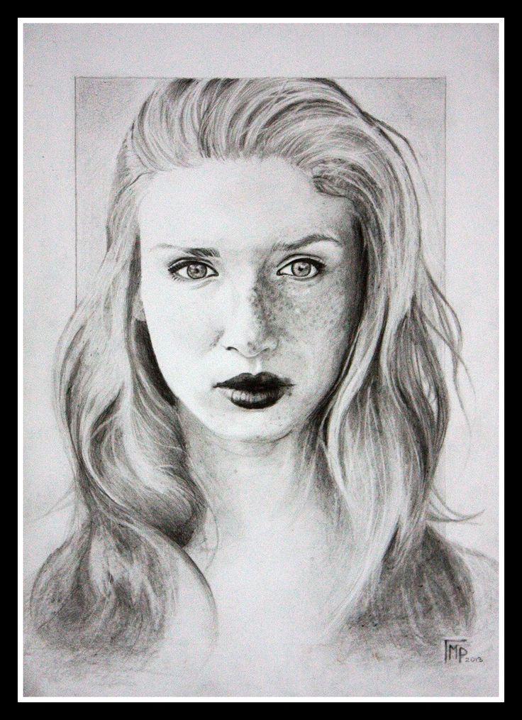 """""""She"""" drawing by Rude Mleko"""