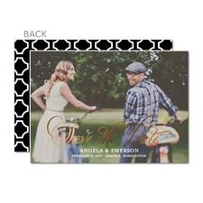 Fine Forever: Foil Save The Dates