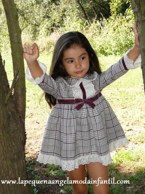 REF.- OIG1421 VESTIDO VUELO COLECCIÓN SEVILLA DE MISS CLEMENTINA. Visita nuestra tienda on line: www.lapequenaangelamodainfantil.com
