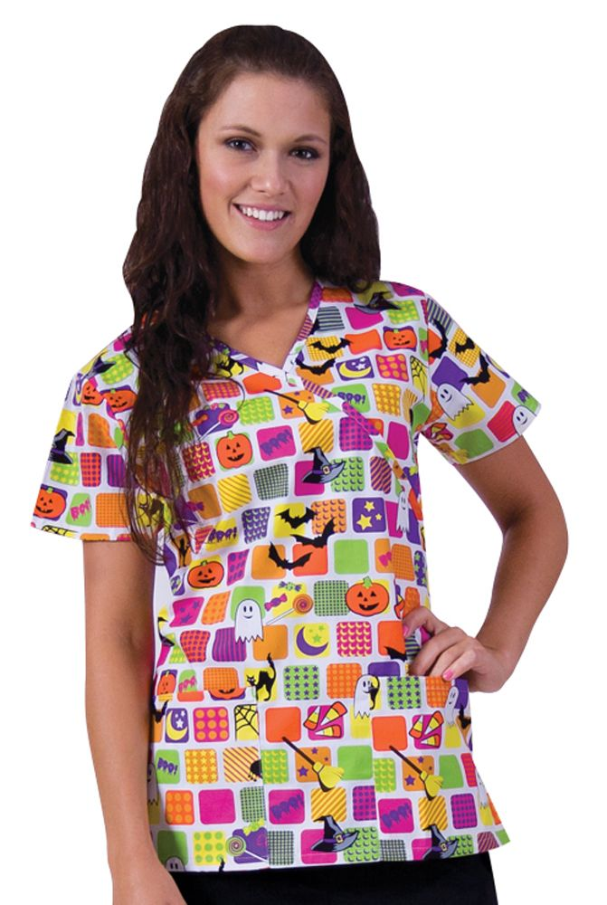 halloween disney scrubs