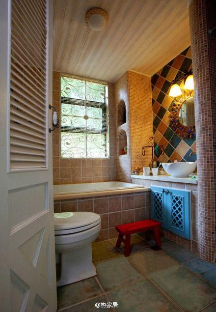 地中海式浴室.~~