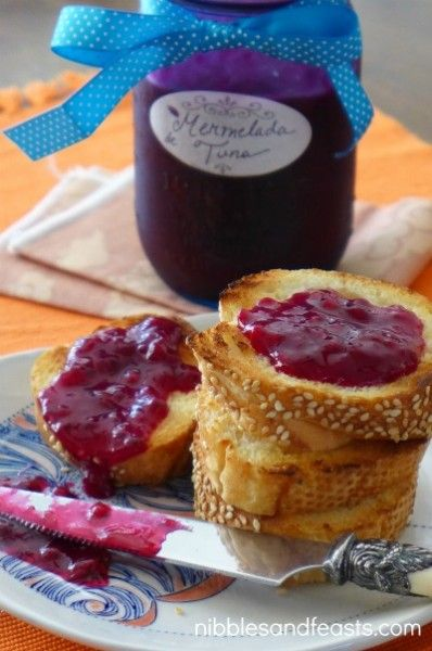 Prickly Pear Jam | Mermelada de Tuna