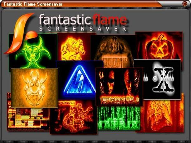 Fantastic Flame Screensaver. Put a realistic flame effect on your desktop.