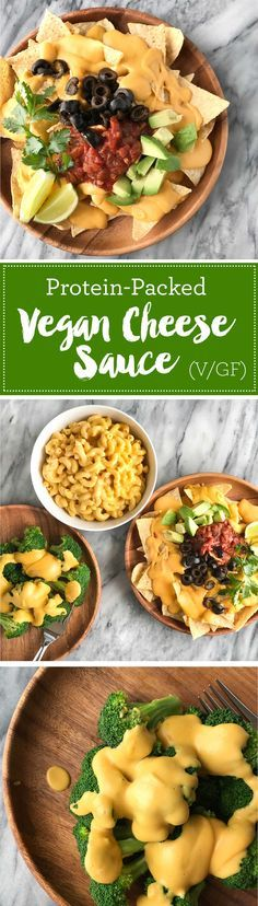 Protein-Packed Vegan Cheese Sauce | Perfect for vegan nachos, vegan mac and cheese, as a vegan cheese sauce on broccoli | Whole foods plant based | Oil-free | #plantbased #vegan #oilfree #wfbp | http://www.eatwithinyourmeans.com/ via @eatwithinmeans
