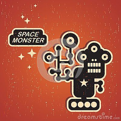 Vintage monster. by Ekaterina Panova, via Dreamstime