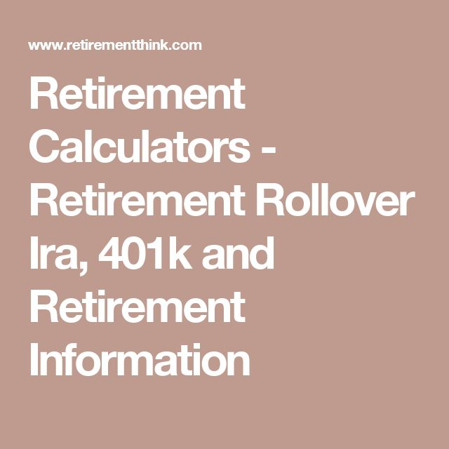 Best 25+ 401k retirement calculator ideas on Pinterest - 401k calculator