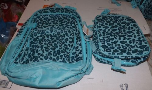 $36.99  2 Piece Gymboree Glamorous Friends Teal Glitter Backpack Lunch Box Set   eBay