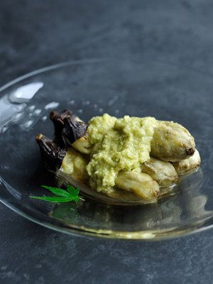 【ELLE a table】焼きなすの夏わさびオイルレシピ|エル・オンライン