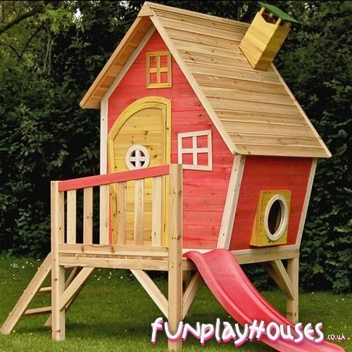 I am building this (on a larger scale) for when my wife kicks me out!  Imagine a flat screen, a kegerator, and a huge sofa to kick back on!  I might even raise it high enough for a firefighter pole!!!