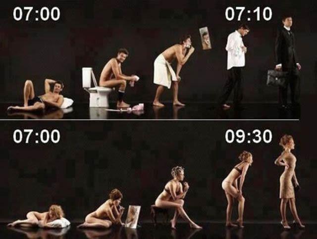 Kadın ve Erkek Yaşam Tarzları Arasındaki Komik Farklılıklar - http://www.aylakkarga.com/kadin-ve-erkek-yasam-tarzlari-arasindaki-komik-farkliliklar/
