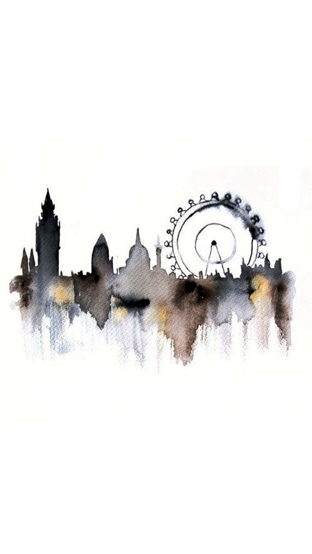 London SH | made this painting into a nice iPhone wallpaper