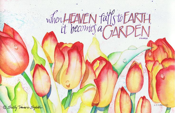 When Heaven Falls… print by Sally Towers-Sybblis