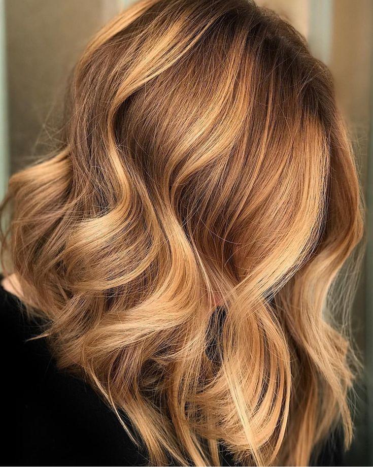 Balayage Gold Wheat #haircolor #hairstyle #haarfarbe #frisuren